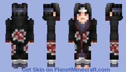 Itachi Uchiha Akatsuki Minecraft Skin