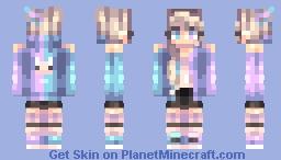 Aurora Borealis ~ Minecraft Skin