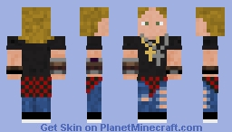 Axl Rose - Guns N' Roses (Not In This Lifetime Tour) Minecraft Skin