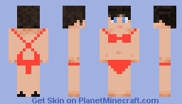 Bikini Swimsuit Minecraft Skin
