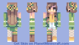 Spring break Minecraft Skin