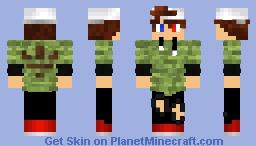 Cool Hat Boy Minecraft Skin