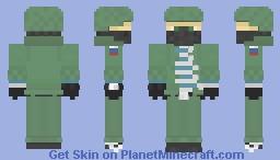 Adventurer Izlom [Listening to LOS!LOS!LOS! xD] Minecraft Skin