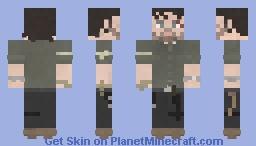 Rick Grimes | The Walking Dead | 8x10 Minecraft Skin