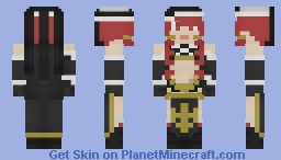 Irene Belserion | Scarlet Despair | FairyTail Minecraft Skin