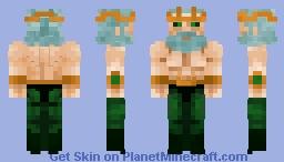 Lord Poseidon (Unarmed) Minecraft