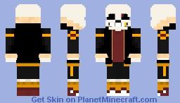 Underfell Sans Minecraft Skin
