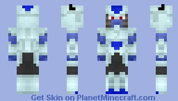 Frost (Dragon Ball Super) (1.8) Minecraft Skin