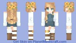 Υυmmγ' - Sunflowers ._. Minecraft Skin