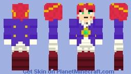 Scarlet from Brawlhalla Minecraft Skin