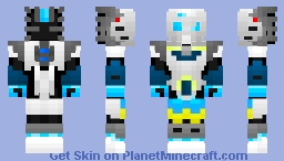 Kopaka ~ Uniter Of Ice Minecraft Skin