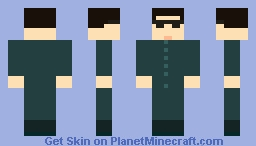 Neo from the matrix trilogy (1 year anniversary special ) Minecraft Skin