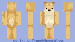 Cute Doggo Minecraft Skin