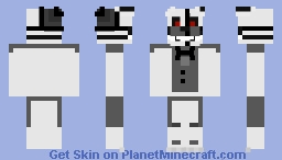 The Fourth Closet Cover Unpainted Funtime Freddy Minecraft Skin