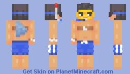 old school Minecraft Skin