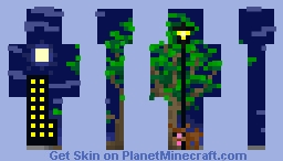 Skin in the night... Minecraft Skin