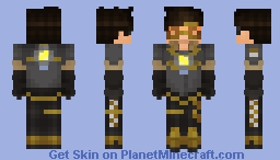 Tracer [Seoul Dynasty] : Overwatch Minecraft Skin