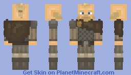 """""""Ég mun hakka höfuðið af þér!"""" — Viking Skin Minecraft Skin"""