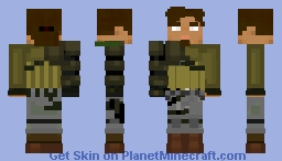 KANAN JARRUS (SW REBELS) (Blind version) Minecraft Skin