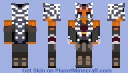 AHSOKA TANO (SW REBELS) Minecraft Skin