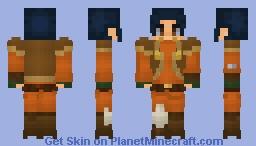 EZRA BRIDGER (SW REBELS) Minecraft Skin