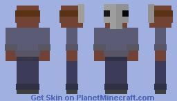 8-Bit Jason Minecraft Skin