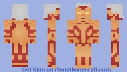 Armoured Titan - Attack on Titan Minecraft Skin