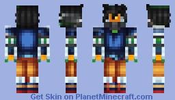 artudito goku Minecraft Skin