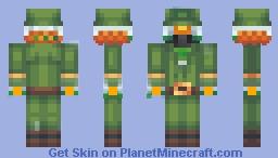 artudito leprechaun Minecraft Skin
