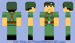 ARVN Soldier, the Vietnam War Minecraft