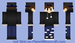 ⚡ Request - Cap & Hoodie ⚡ Minecraft Skin