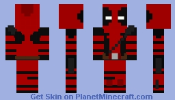 David's Deadpool Skin (Removable Mask) Minecraft Skin