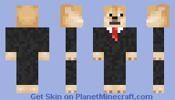 Dog Suit Minecraft Skin