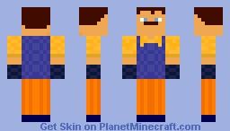 Hello Neighbor Minecraft Skin