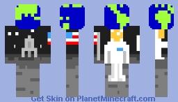 Earthset in July Minecraft Skin