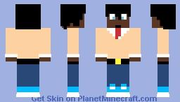Yandere Diamond Minecraft Skin