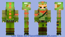 Rex Skin (Legendary Skin) from Fortnite: Battle Royale. Minecraft Skin
