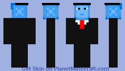 Graduating Fish Minecraft Skin