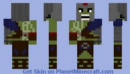 Gladiator Hulk Minecraft Skin