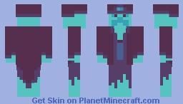 Spooky Wizard Minecraft Skin