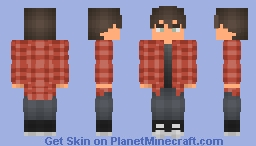 IRL me (2nd version) Minecraft Skin