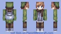 Colors that bleed to gray Minecraft Skin