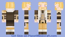 a barbarian i guess Minecraft Skin