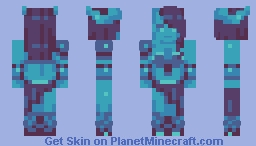 Draenei -- Limited Palette Skin Contest Minecraft Skin
