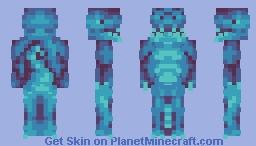 Crystalline Dinosaur Minecraft Skin