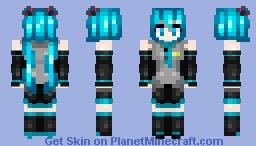 Hatsune Miku - Vocaloid Minecraft