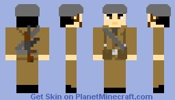 Nationale Volksarmee soldier, East Germany Minecraft