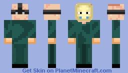 Part 5 Roy Jason Green Jumpsuit Minecraft Skin