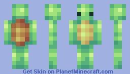 Pixel Turtle! :D Minecraft Skin