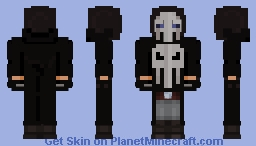 The Punisher Minecraft Skin